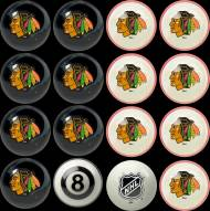 Chicago Blackhawks Home vs. Away Pool Ball Set