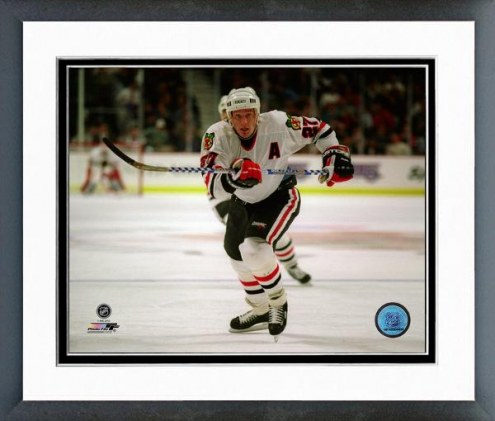 Chicago Blackhawks Jeremy Roenick 1994-95 Action Framed Photo