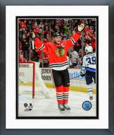Chicago Blackhawks Jonathan Toews Action Framed Photo