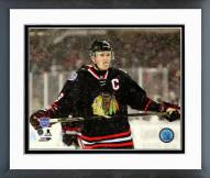 Chicago Blackhawks Jonathan Toews NHL Stadium Series Action Framed Photo