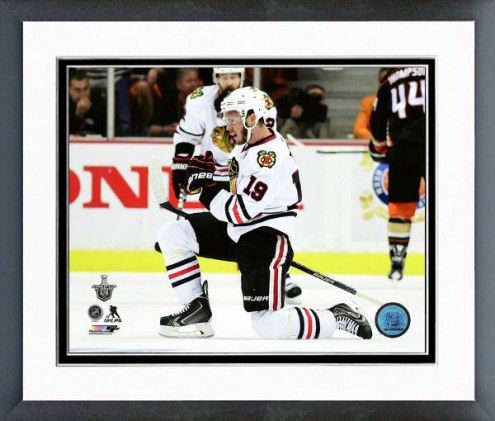 Chicago Blackhawks Jonathan Toews Western Conference Finals Framed Photo