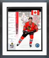 Chicago Blackhawks Jonathan Toews Canada Portrait Plus Framed Photo