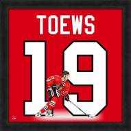 Chicago Blackhawks Jonathan Toews Uniframe Framed Jersey Photo