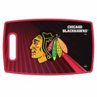 Chicago Blackhawks Large Cutting Board