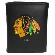 Chicago Blackhawks Large Logo Tri-fold Wallet