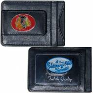 Chicago Blackhawks Leather Cash & Cardholder