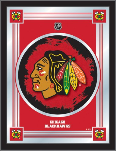 Chicago Blackhawks Logo Mirror
