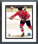 Chicago Blackhawks Lou Angotti Action Framed Photo