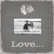 Chicago Blackhawks Love Picture Frame