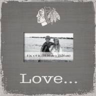 Chicago Blackhawks Love Picture Frame