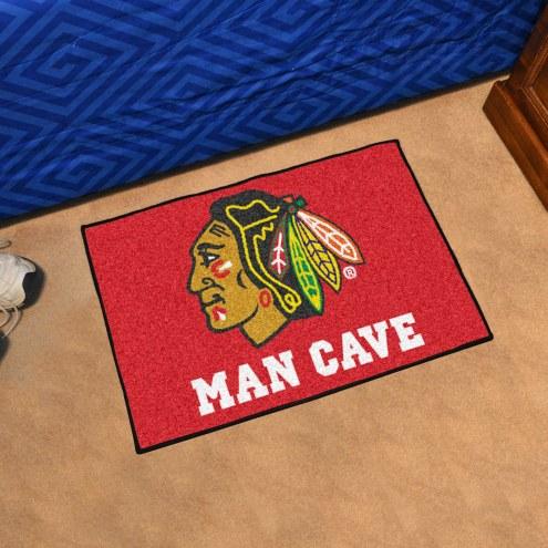 Chicago Blackhawks Man Cave Starter Mat