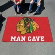 Chicago Blackhawks Man Cave Ulti-Mat Rug