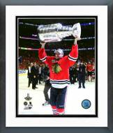 Chicago Blackhawks Marcus Kruger 2015 Stanley Cup Finals Framed Photo