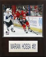 "Chicago Blackhawks Marian Hossa 12"" x 15"" Player Plaque"