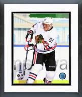 Chicago Blackhawks Marian Hossa NHL Winter Classic Action Framed Photo
