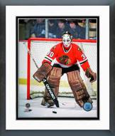 Chicago Blackhawks Murray Bannerman Action Framed Photo