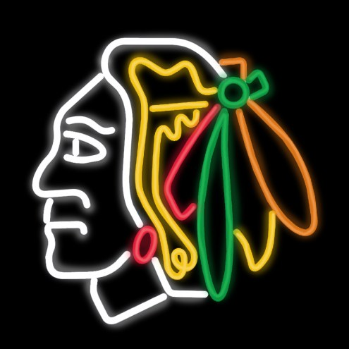 Chicago Blackhawks Neon Sign