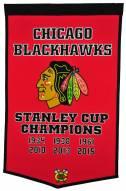 Winning Streak Chicago Blackhawks NHL Dynasty Banner