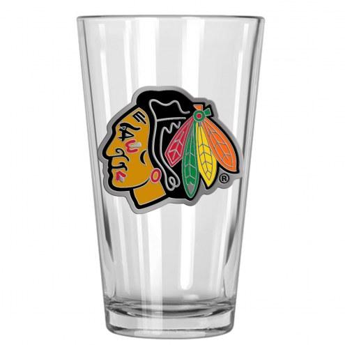 Chicago Blackhawks NHL Pint Glass - Set of 2
