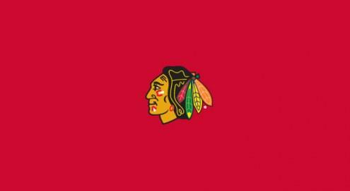 Chicago Blackhawks NHL Team Logo Billiard Cloth