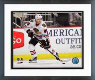 Chicago Blackhawks Patrick Kane Action Framed Photo