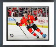 Chicago Blackhawks Patrick Sharp Action Framed Photo