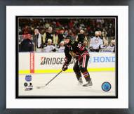 Chicago Blackhawks Patrick Sharp NHL Stadium Series Action Framed Photo