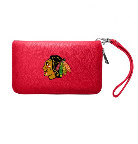 Chicago Blackhawks Pebble Organizer Wallet