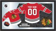 Chicago Blackhawks Personalized Jersey Mirror