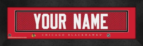 Chicago Blackhawks Personalized Stitched Jersey Print