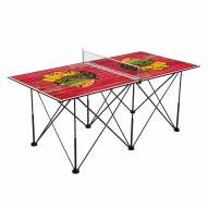 Chicago Blackhawks Pop Up 6' Ping Pong Table