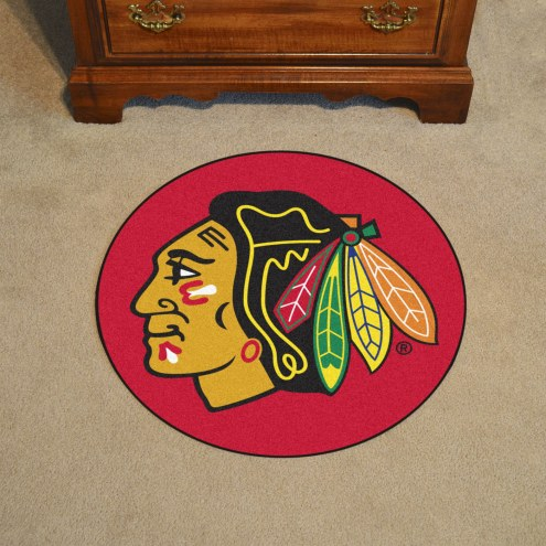 Chicago Blackhawks Puck Mat