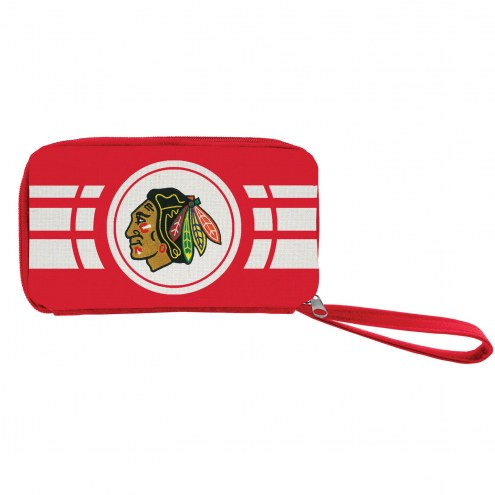 Chicago Blackhawks Ripple Zip Wallet