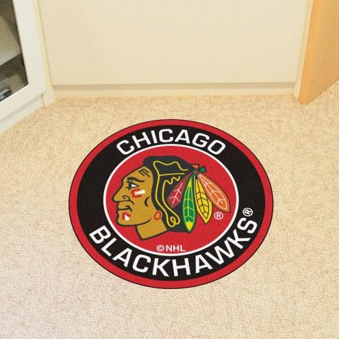 Chicago Blackhawks Rounded Mat
