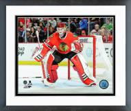 Chicago Blackhawks Scott Darling 2014-15 Playoff Action Framed Photo