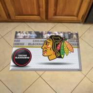 Chicago Blackhawks Scraper Door Mat