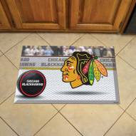 Chicago Blackhawks Scraper Door Mat