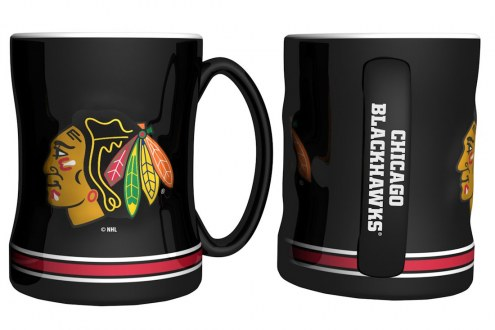Chicago Blackhawks Sculpted Relief Coffee Mug