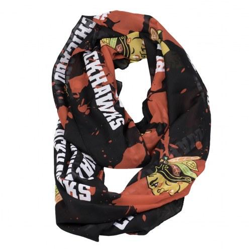 Chicago Blackhawks Silky Infinity Scarf