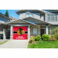 Chicago Blackhawks Single Garage Door Cover