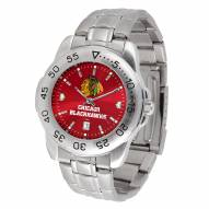 Chicago Blackhawks Sport Steel AnoChrome Men's Watch