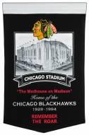 Chicago Blackhawks Stadium Banner