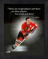 Chicago Blackhawks Stan Mikita Framed Pro Quote
