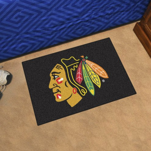 Chicago Blackhawks Starter Rug