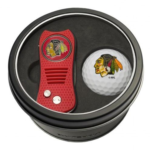 Chicago Blackhawks Switchfix Golf Divot Tool & Ball