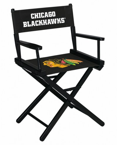 Chicago Blackhawks Table Height Director's Chair