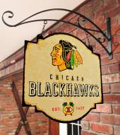 Chicago Blackhawks Tavern Sign