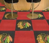 Chicago Blackhawks Team Carpet Tiles