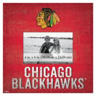 "Chicago Blackhawks Team Name 10"" x 10"" Picture Frame"