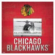 "Chicago Blackhawks Team Name 10"" x 10"" Picture Frame"